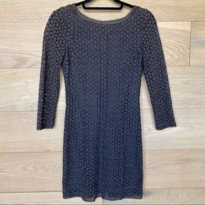 Diane Von Furstenberg Heather Grey Dress